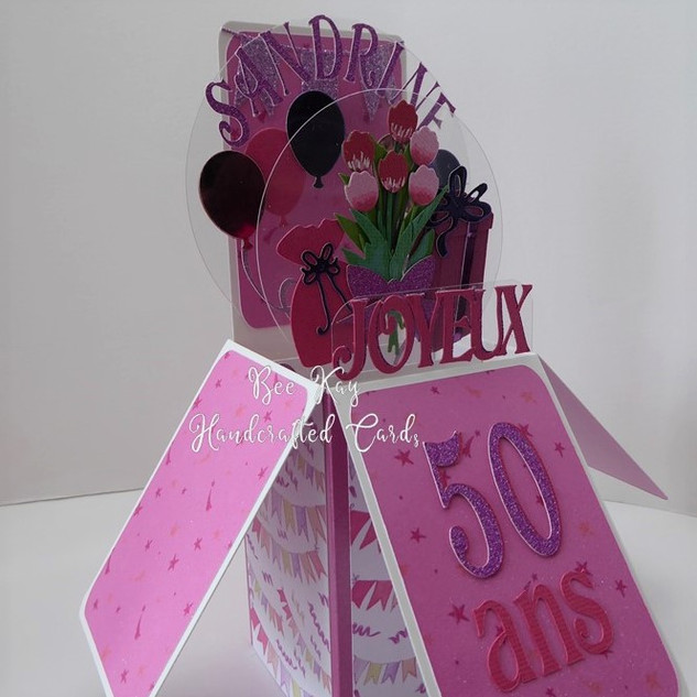 Pink party 50th birthday
