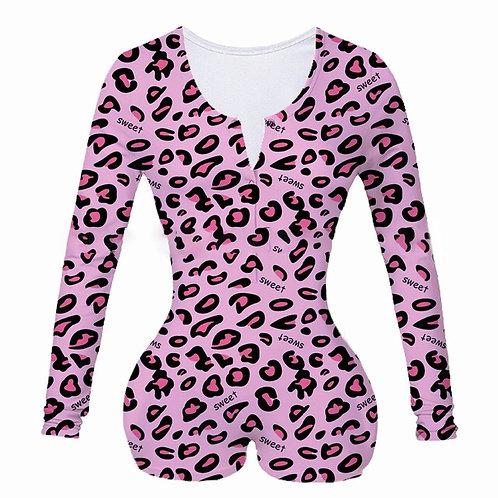 """""""Sweet Leopard Print"""" Onesie"""