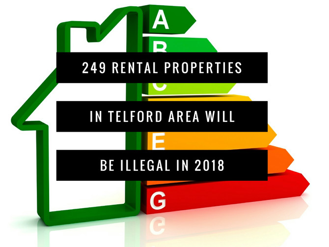249 rental properties in the Telford area will be illegal in 2018