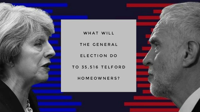 What will the General Election do to 35,516 Telford Homeowners?