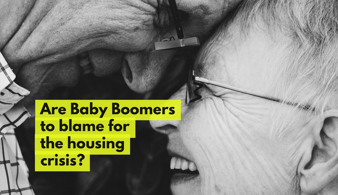 Youngsters unable to buy their first home in Telford – Are the Baby Boomers and Landlords to Blame?
