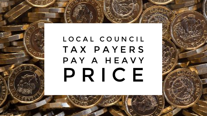 Telford Council Tax Payers Stung by 21.77% above Inflation Rise