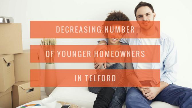 Decreasing Numbers of Younger Homeowners in Telford