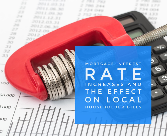 Increase in Interest Rates to cost Telford Home Owners £187.41 a year