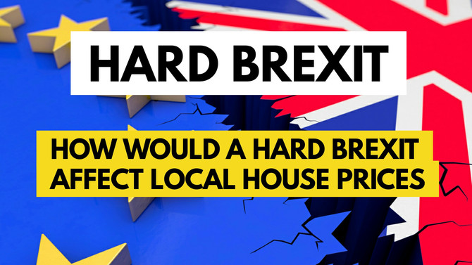 How Would a Hard Brexit Affect Telford House Prices?