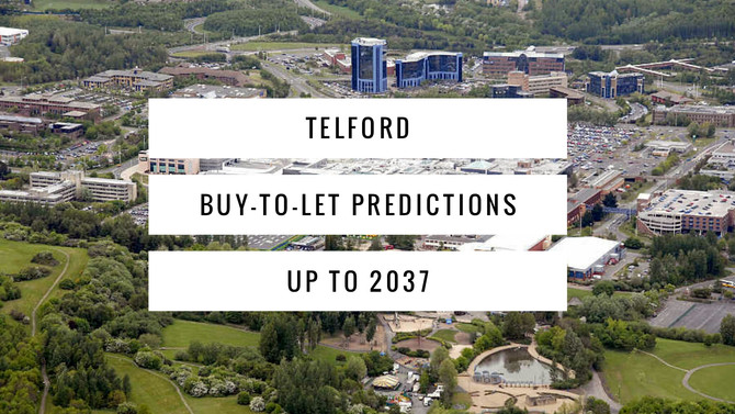 Telford Buy-To-Let Predictions up to 2037
