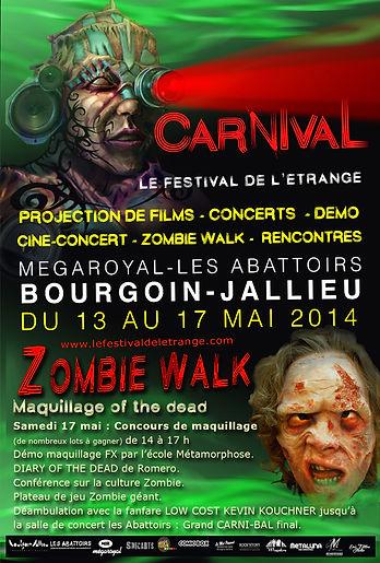zombie walk Bourgoin-Jallieu