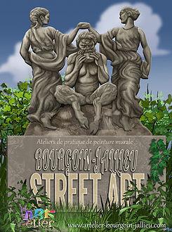 Street art bourgoin-Jalleu.