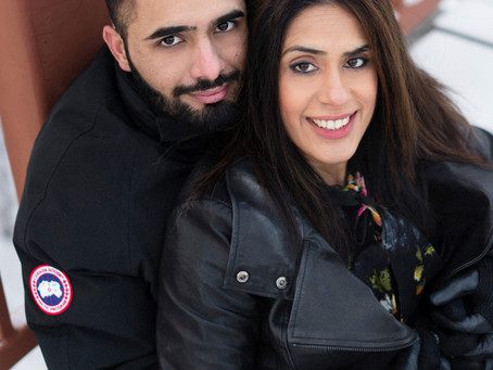 Edmonton Wedding Photographer - Sukhpal & Harpreet - Engagement Session