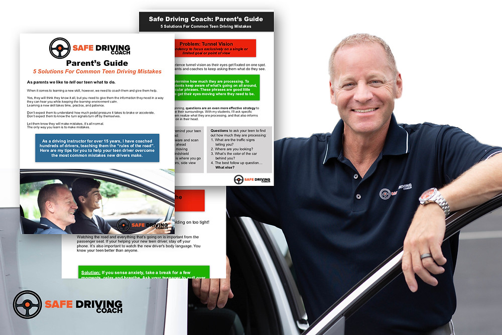 Image of the Parent's Guide - 5 Solutions to the Most Common Teen Driving Mistakes