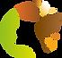 logo en couleur salon végétal paris coul