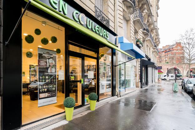 Salon de coiffure en couleur végétal Paris Gare de lyon
