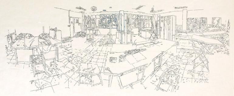Sketch -A studio in CMU-