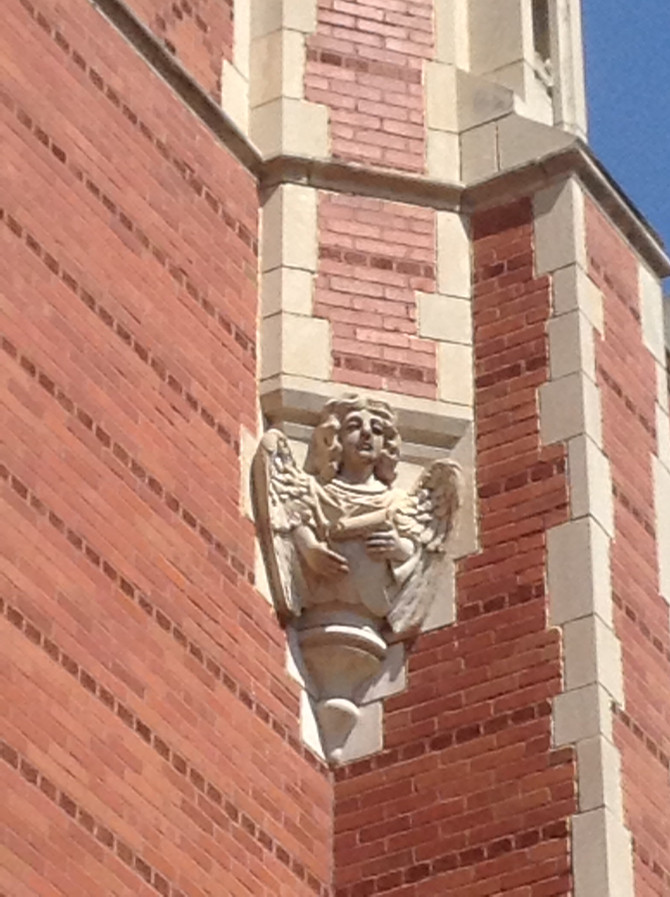 """Habitants"" of Bizzell Library"