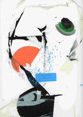 U World 3. Acrylic on paper.