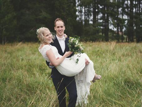 Stort grattis till det härliga brudparet Karin och Fredrik som gifte sig i lördags!