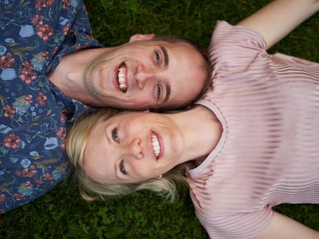 Preshoot! Ett härligt par Karin&Fredrik som ska gifta sig om några veckor!