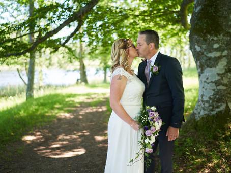 Therés&Håkan gifte sig den 8 juni i det vackra Hammar vid Askersund!