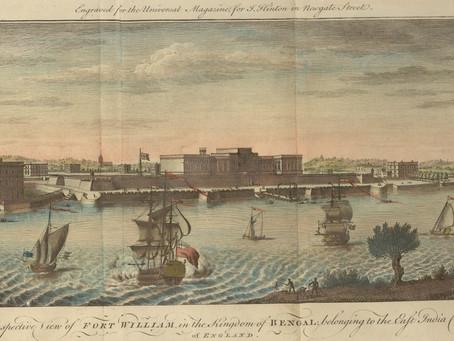 """Bainama: Deed of Transfer of Zemindary Rights of """"Calcutta""""- 9 November 1698"""