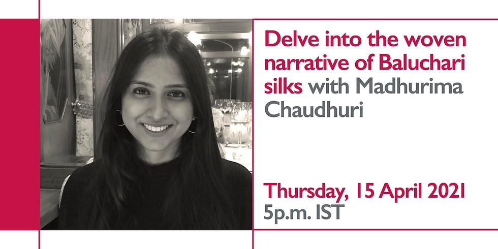 Small Talks with Madhurima Chaudhuri