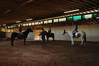 andre pool horseback riding clinic