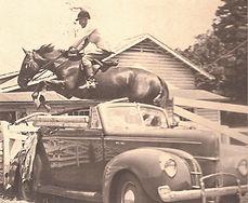 June V. Fisher horseback riding