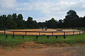 show jumping ring horseback riding