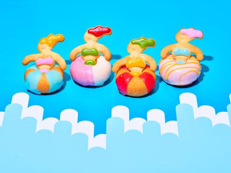 『オカシナカタチプロジェクト』第一弾「ウキウキドーナツ」
