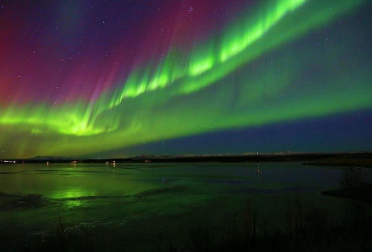 Kriunes northern lights