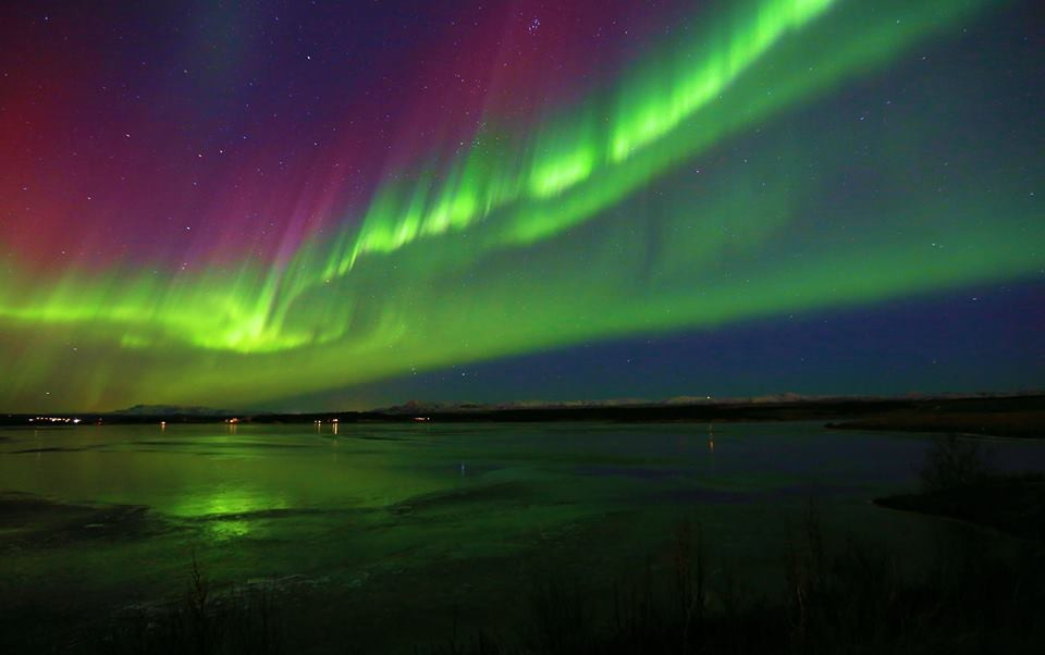 Kriunes northern lights