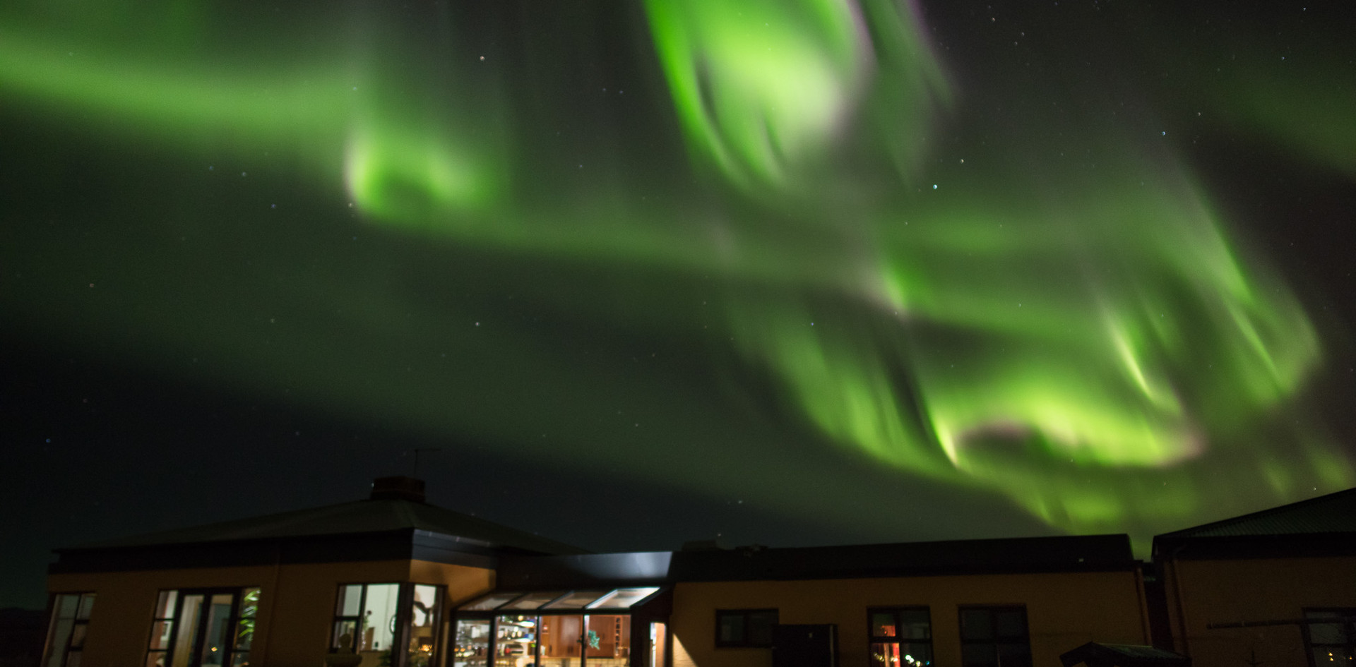 Northern Lights at Kríunes
