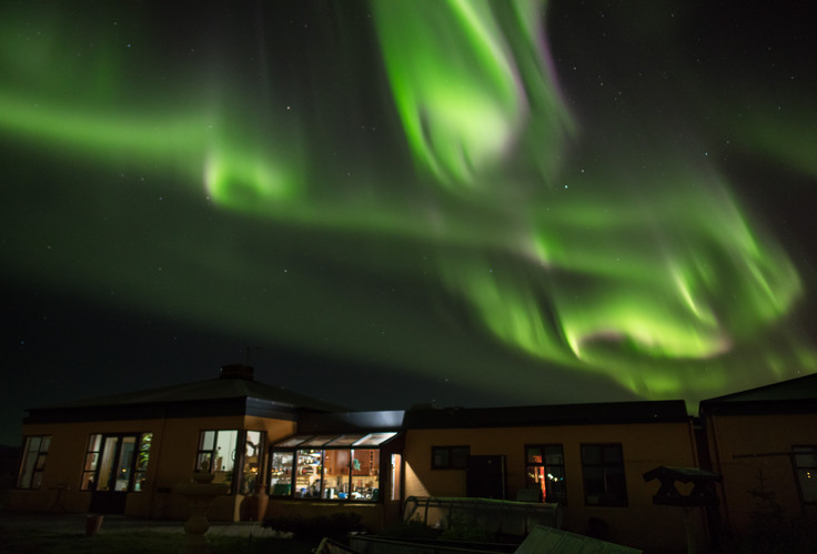 Northern Lights at Kríunes