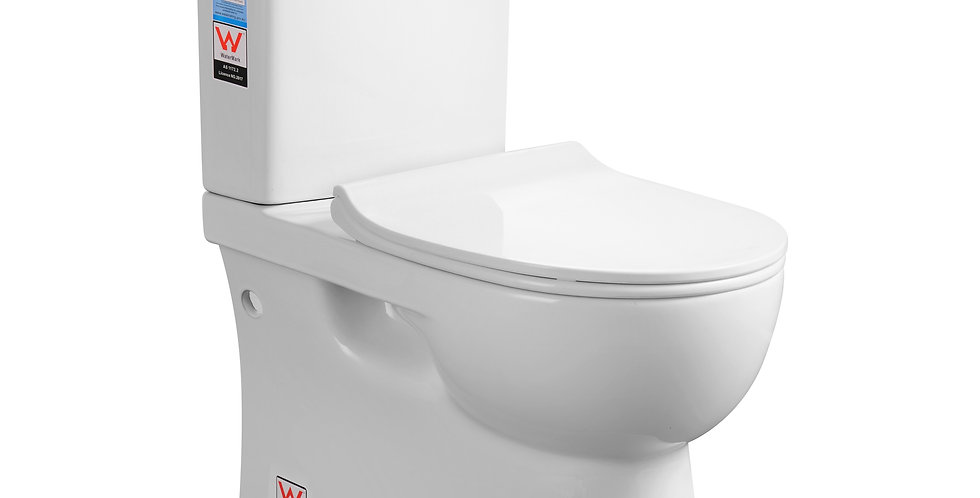 RN-8011 Rimless Back to Wall Toilet Suite P/S
