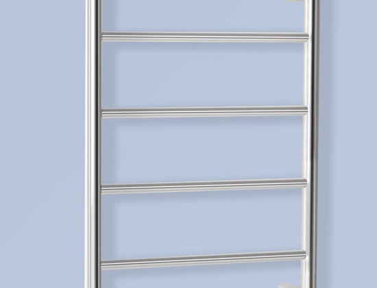 HEATED TOWEL RAIL ROUND 6 BAR