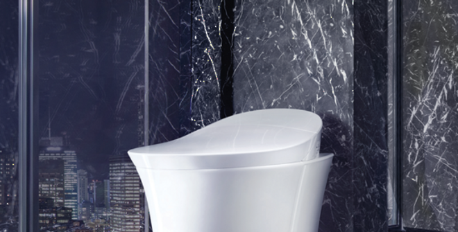 VEIL INTELLIGENT WALL HUNG TOILET 5402A-0