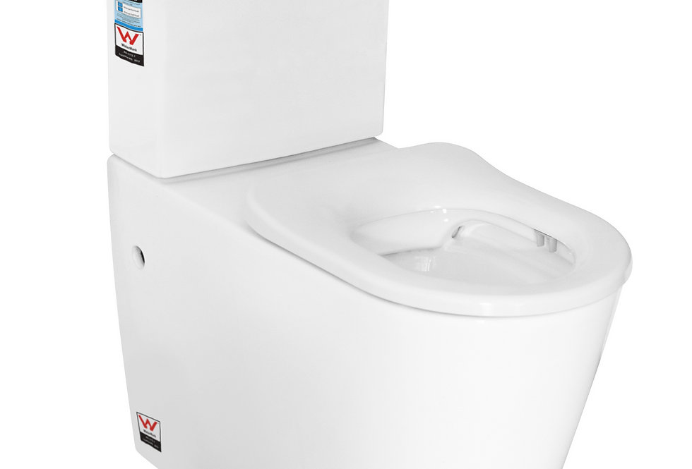 RN-6018 Disabled Rimless Back to Wall Toilet Suite P/S