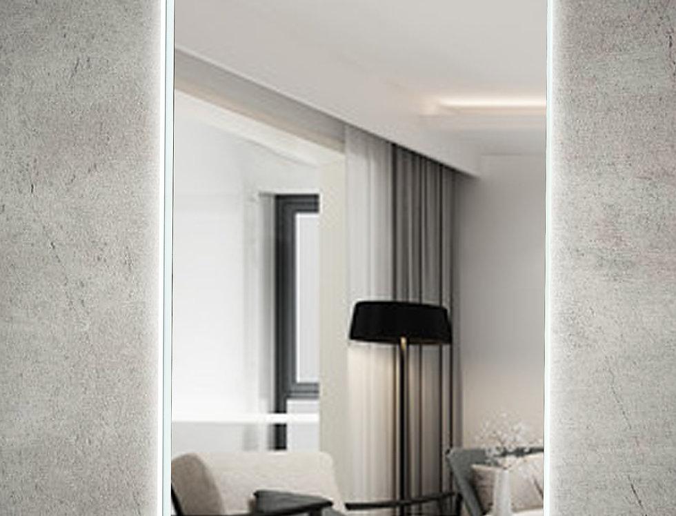 LM600DE-AC LED Mirror Demister with Acrylic Frame