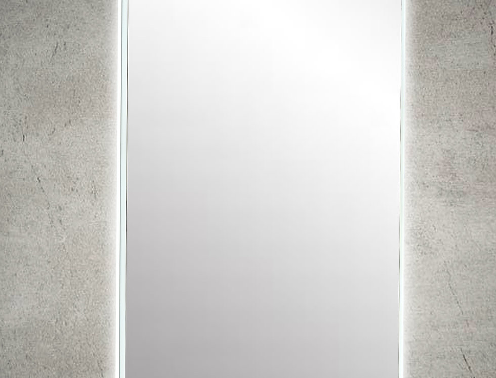 LM750DE-AC LED Mirror Demister with Acrylic Frame