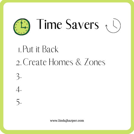 5 Simple Steps to Gain Time Everyday to Spend on The Things You Love - Part 2..