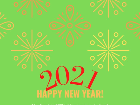2021 - New Year, New You? Or New Year, Keep Putting One Foot In Front Of The Other?