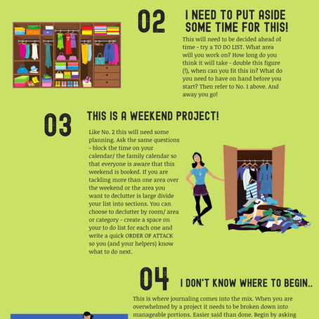 Where Are You On The Declutter Board?