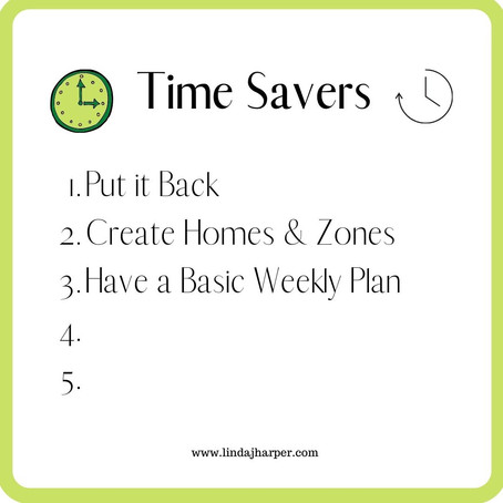 5 Simple Steps to Gain Time Everyday to Spend on The Things You Love - Part 3...