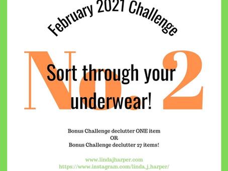 Week 1 February 2021 Challenge!