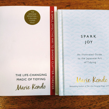 Marie Kondo and Swedish Death Cleaning on Paper Clutter