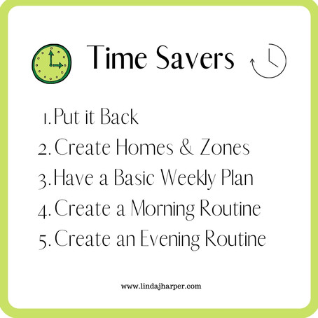 5 Simple Steps to Gain Time Everyday to Spend on The Things You Love - Part 5..