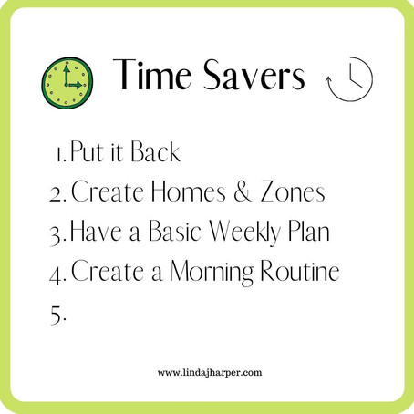 5 Simple Steps to Gain Time Everyday to Spend on The Things You Love - Part 4..