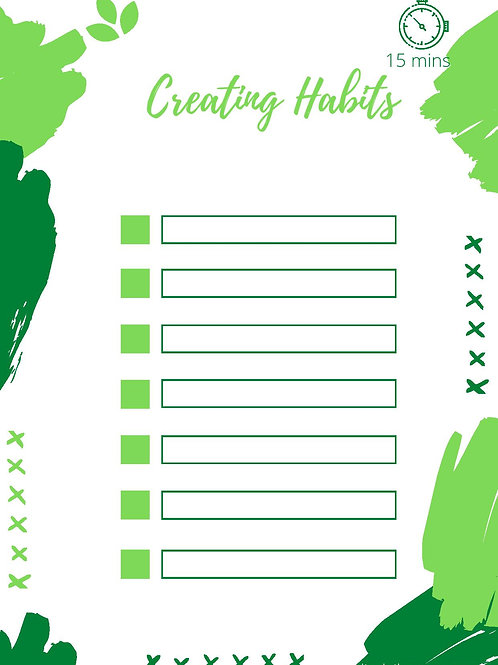 Blank Little Helper - Create Your Own Good Habits!