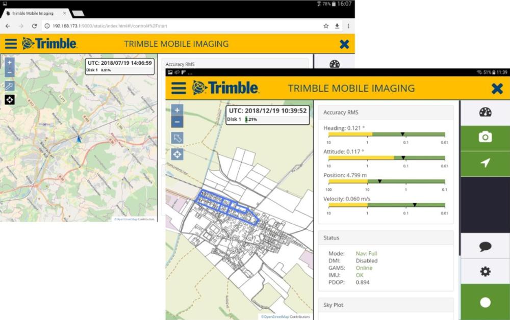 Trimble Mobile Imaging Software