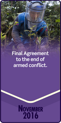 Final Agreement to the end of armed conflict.