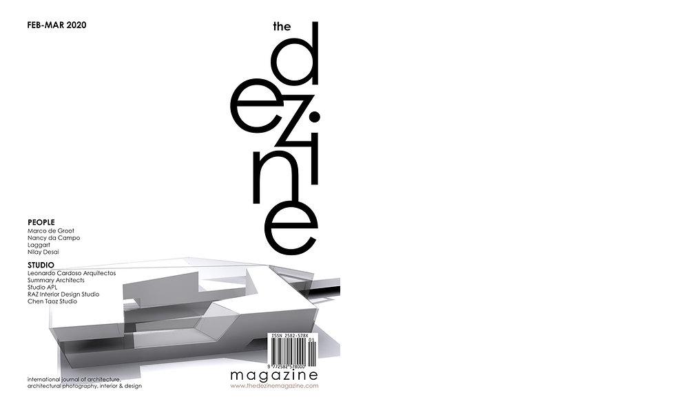 The Dezine magazine_Feb-Mar 2020_First I